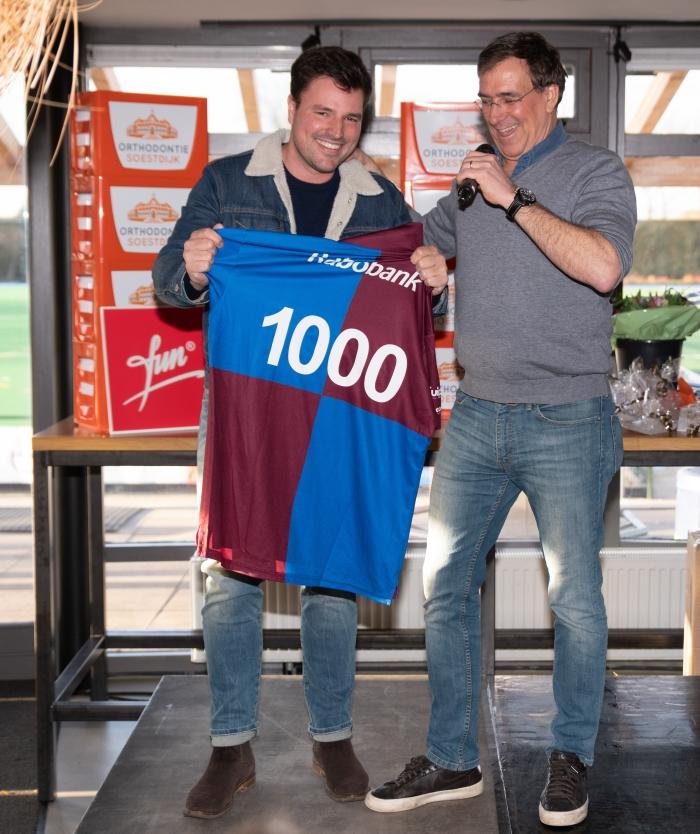 Ruben Sondaar met BMHV voorzitter Maarten Janknegt