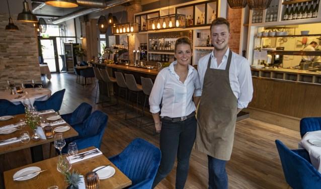 Daisy Jagerman en Daimy van restaurant Salt Seafood Bar & Wines