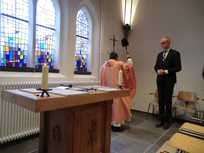 De inzegening van de kapel n.v.t. © BDU media