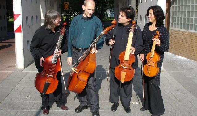 Bijlmerconsort haalt met de viola da gamba vierhonderd jaar oude muziek naar het heden.