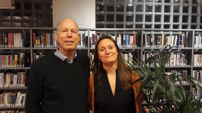 Suzanne Kröger en Martin Kortekaas