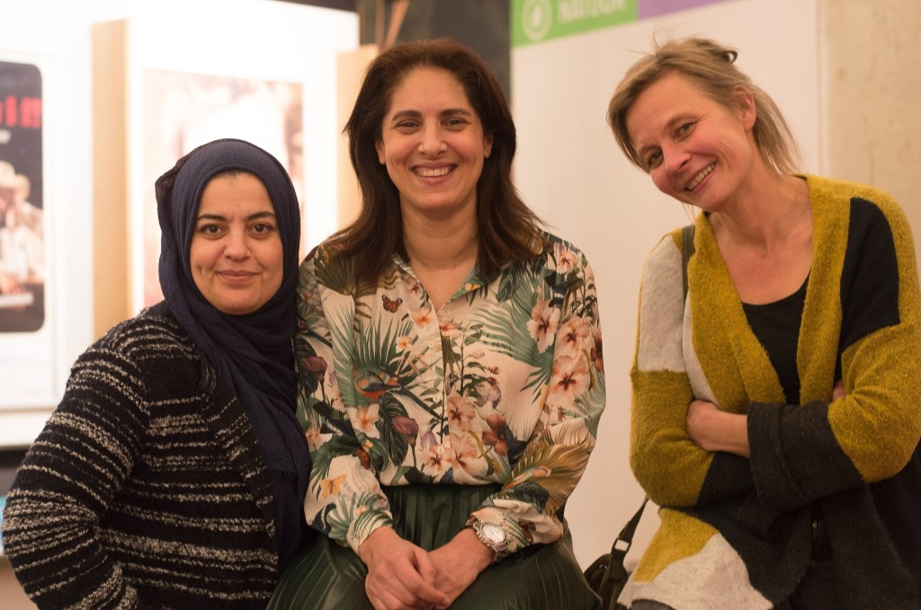 Bouchra Lahrech, Soumaya Ouarghi en Cathelijne Wijnberg.