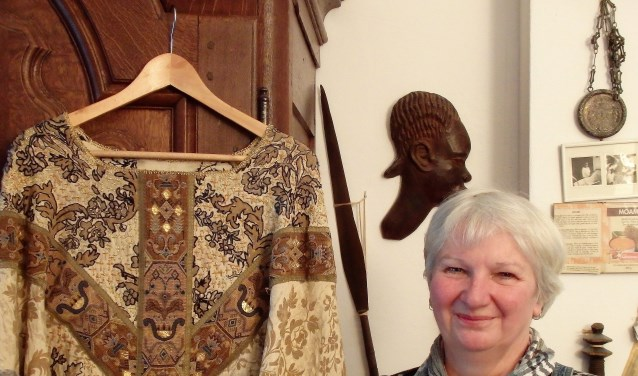 Marjo van der Leeuw is textielkunstenares.