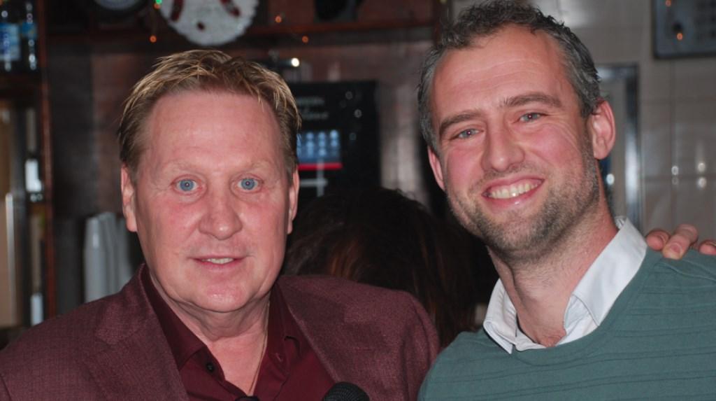 Robert van Boxtel (rechts) wordt de nieuwe trainer van vv Zwanenburg. Eigen foto © BDU media