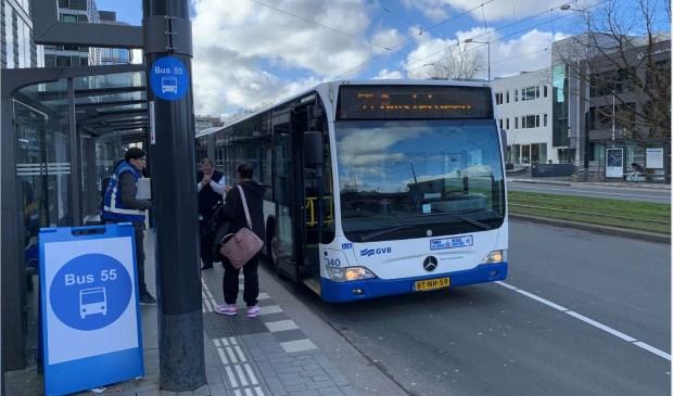 Het gaat inmiddels een stuk beter met buslijn 55.