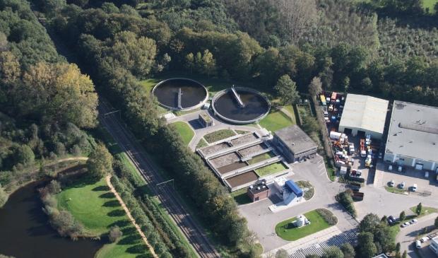 <p>De rioolwaterzuivering in Bunnik.</p>