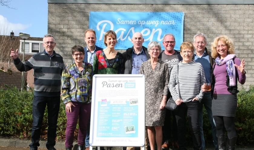 De organisatie van Samen op weg naar Pasen hoopt op veel belangstelling.