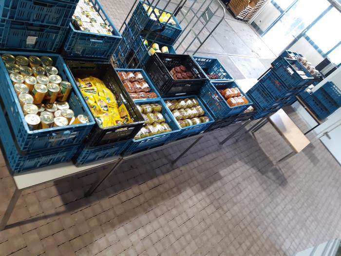 Magazijn Voedselbank Cora v Velzen © BDU media