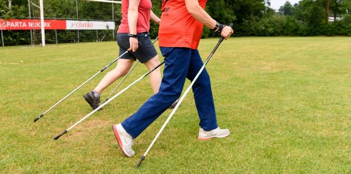 Actief wandelen met stokken (poles)