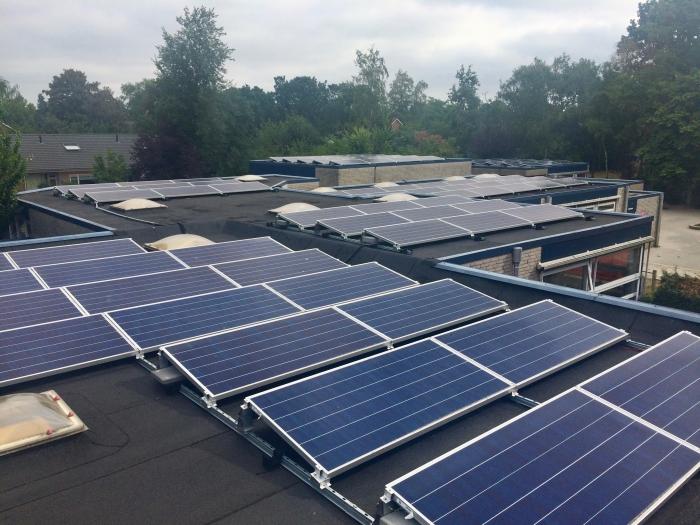 Met deze zonnepanelen wordt er duurzaam en lokaal energie opgewekt