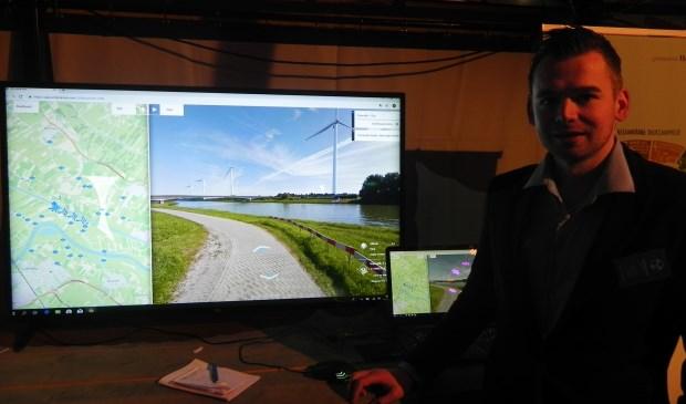 Op een simulator kon de toekomstige situatie vanuit alle mogelijke posities inzichtelijk gemaakt worden. Richard Thoolen © BDU media