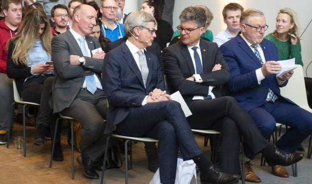 Bolsius tijdens de presentatie van het Koningsdag-programma.