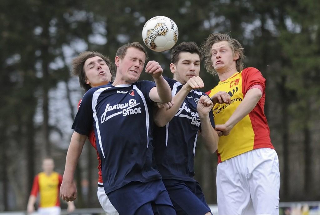 Derby en topper: Veluwse Boys - Stroe Henk Hutten © BDU media