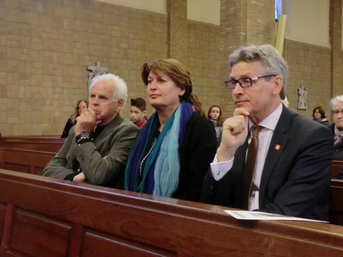 Burgemeester Bolsius, Alex en Wilma Luigjes waren een van de genodigden n.v.t. © BDU media