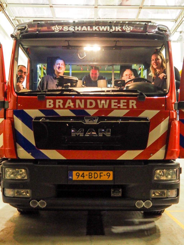 De trots van ieder brandweerkorps: het uitrukvoertuig. Tanja Vlieger © BDU media