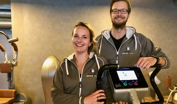 Joey en Janneke Happe van gezondheidscentrum Heerlijk Gezond & Zo.