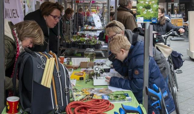 Veel groene inspiratie op de Groen-doet-je-goed-Markt.
