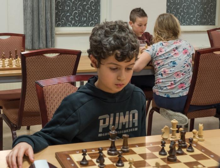 Jabber al-Yassin speelde sterk