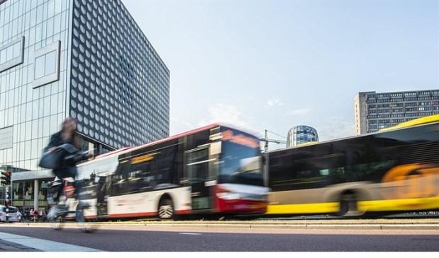 Syntus en uov bus in Utrecht