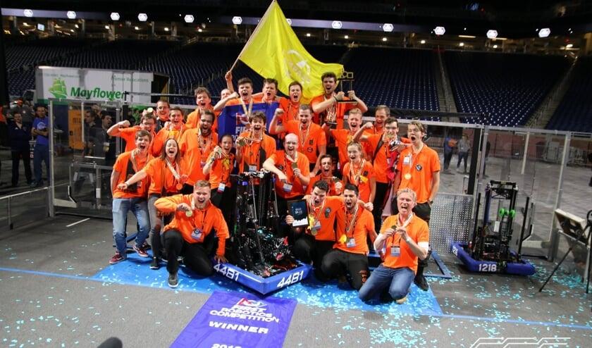 Soester technicus wint Robotics Competition in Verenigde Staten