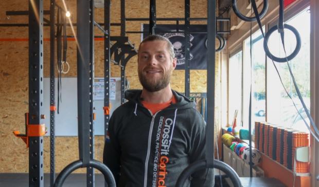 <p>Dirk Jan Bartels van sportschool CrossFit</p>