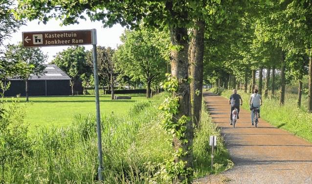 Op de fiets langs Erfgoed locaties waar een muziekprogramma wordt aangeboden.