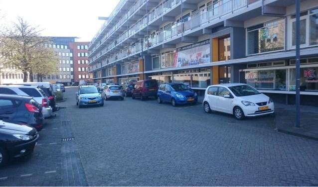 De beoogde locatie van de Voedselbank aan de Schelluinsevliet (foto archief).