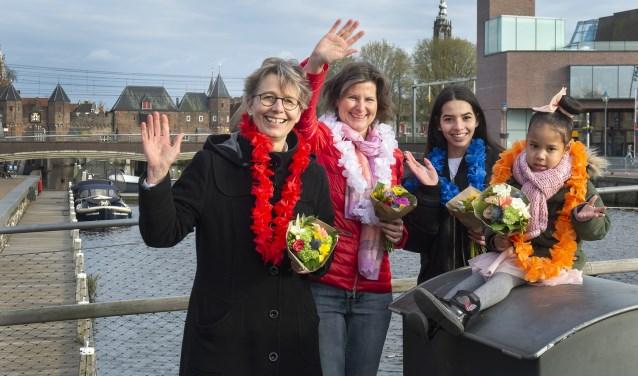 Alexia van Beers, Ariane Meershoek, Amalia Sihombing en Alexia Sija Kesewaa Don zijn de prinsessen van Amersfoort.