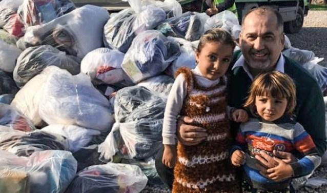 Inzamelingsactie voor mensen in Irak die uw steun kunnen gebruiken