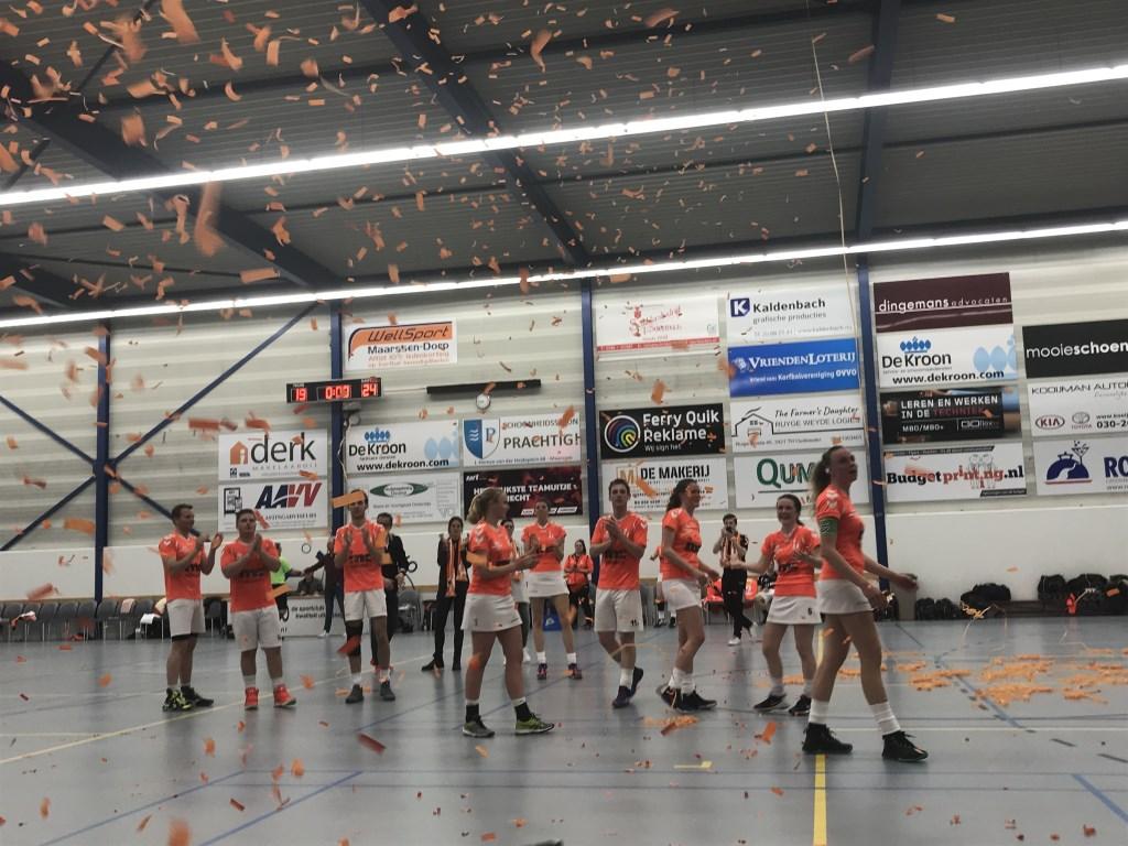 Sparta verloor in Maarssen het beslissingsduel om handhaving van MIA: 19-24 Marco Jansen © BDU Media