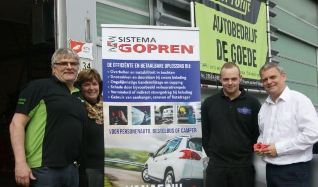 Het team van Autobedrijf De Goede.