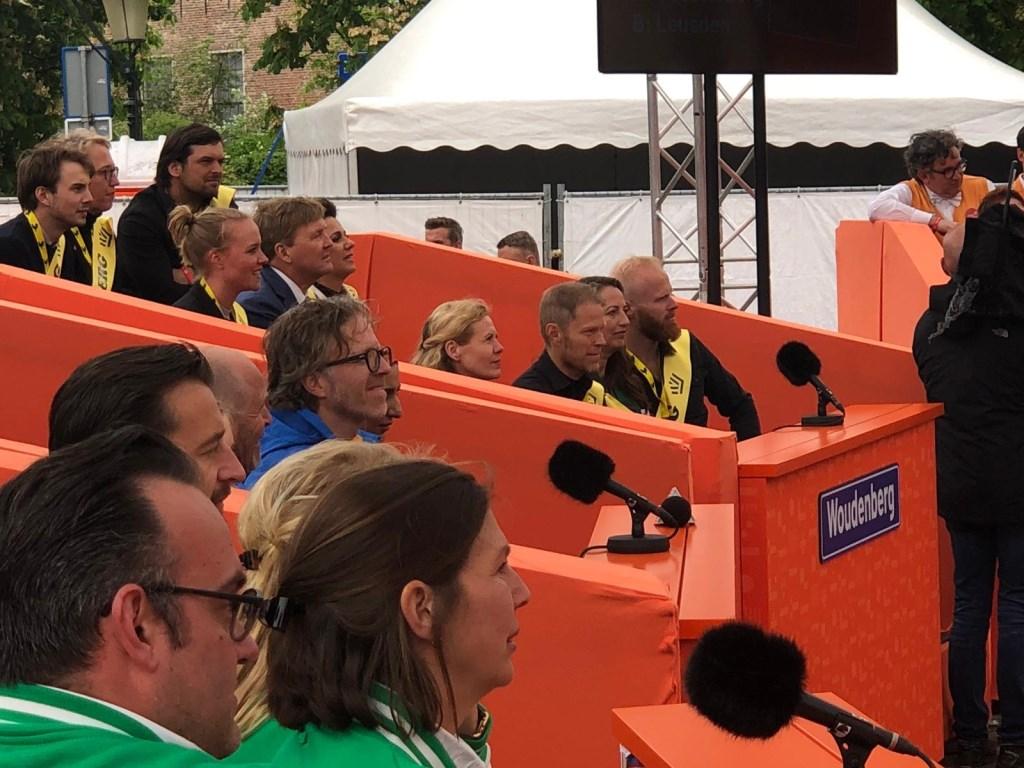 Team Woudenberg krijgt hulp van koning Willem-Alexander en Prinses Anita.