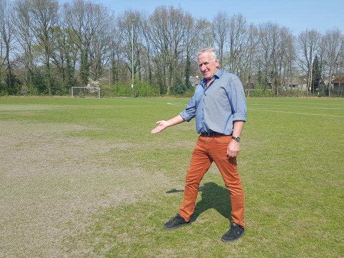 Jeugdvoorzitter Leo Rauch van SO Soest heeft vraagtekens bij het Bosstraat-plan