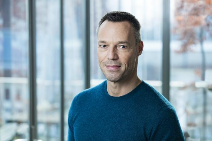 Presentator Hans Goedkoop