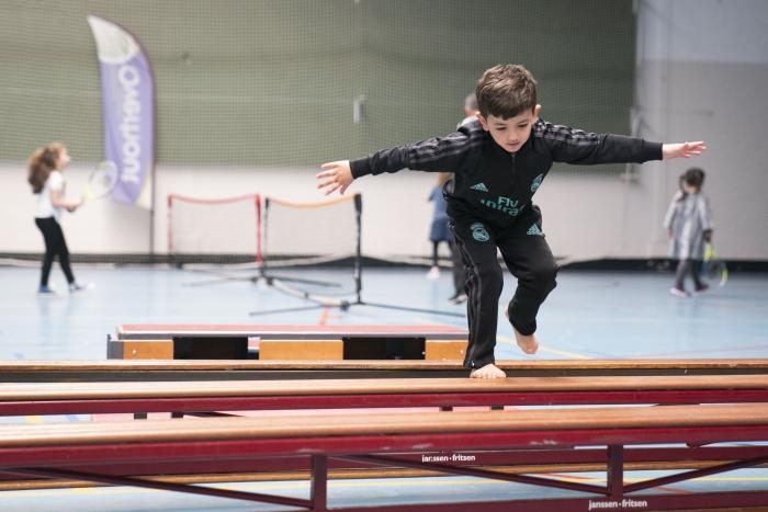 Kinderen in actie tijdens de open dag Renata Jansen Fotografie © BDU media