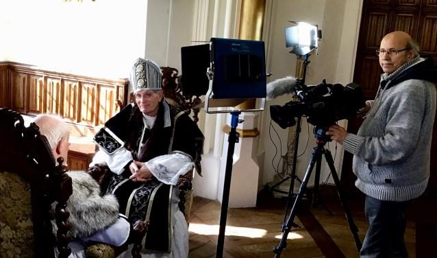 Filmopnames docudrama Het Langebroeck bij Kasteel Sterkenburg