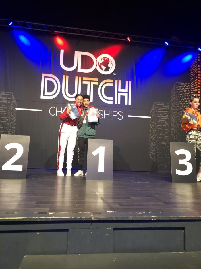 Dante & Jade R. van der Veld © BDU media