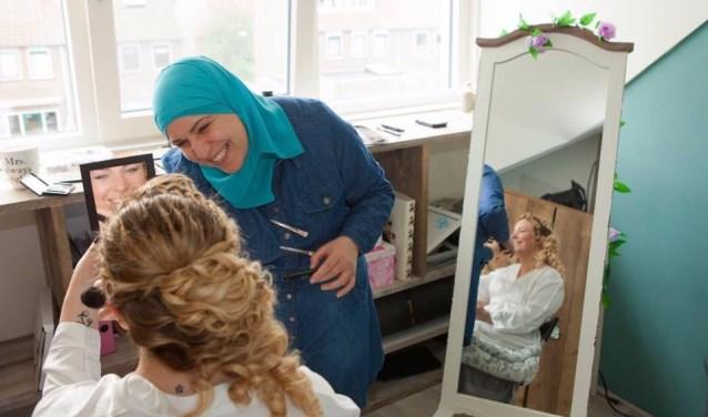 Saloua Cherrouda is de eerste Marokkaanse baby die geboren werd in Amersfoort.