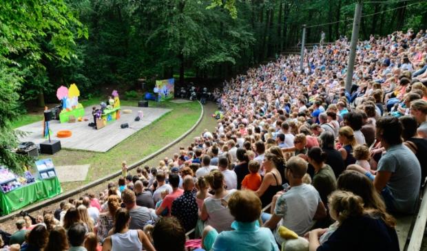 Openluchttheater033 tijdens een eerdere voorstelling