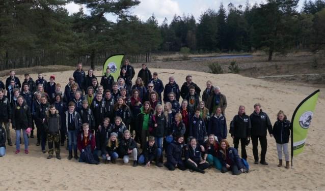 De landelijke Junior Ranger Dag in Nationaal Park De Hoge Veluwe.