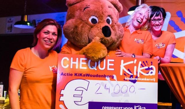 De actie voor Kika heeft 24.000 euro opgebracht.