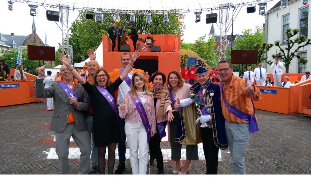 De overwinning wordt gevierd in Amersfoort. Ilse Snoek © BDU media