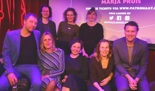 De gasten plus de organisatoren van de derde editie van Lamoer.