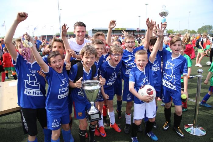 Prijsuitreiking Schoolvoetbal Willem Eelman Zpoint © BDU media