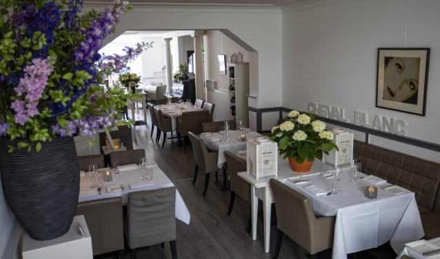 Restaurant Cheval Blanc aan de Jan van Goyenstraat staat kwaliteit hoog in het vaandel.