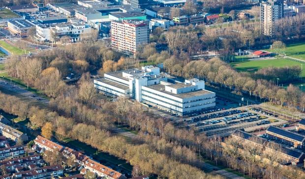 Op de locatie van het HP-kantoor aan Startbaan komen zeven appartementengebouwen.