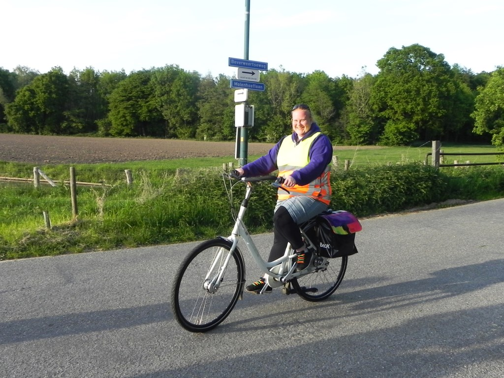 Onze Marjolein is een betrouwbare verkeersregelaar op wie we ieder jaar weer kunnen rekenen. Richard Thoolen © BDU media