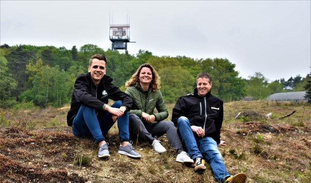 De organisatoren v.l.n.r. Thomas Kolbrink, Dorine Merkus en Jochem Janssen.