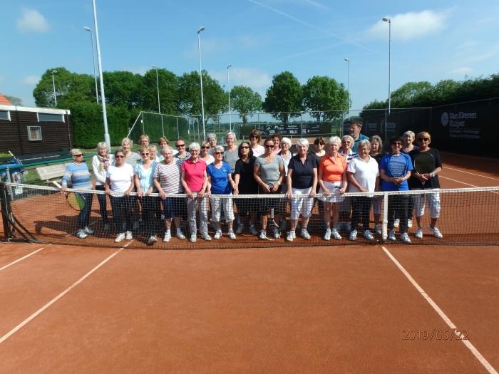 Dames tennis woensdagochtend