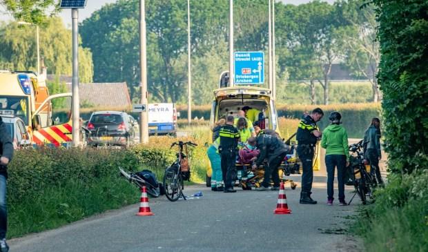 Zwaar ongeluk op de parallelweg bij de Schoudermantel Koen Laureij © BDU media